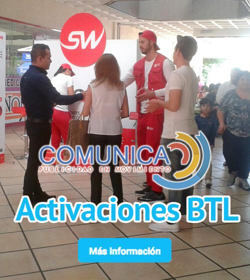 Activaciones BTL Gpo Comunica
