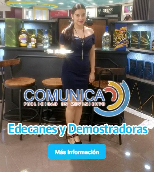 edecanes y demostradoras Gpo Comunica